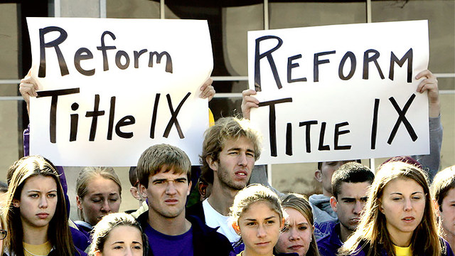 the effects of title ix have made on sports participation Title ix has given girls an equal opportunity to work hard and have success in their athletic dreams it allows us to participate in certain sports and make history as women athletes when were .