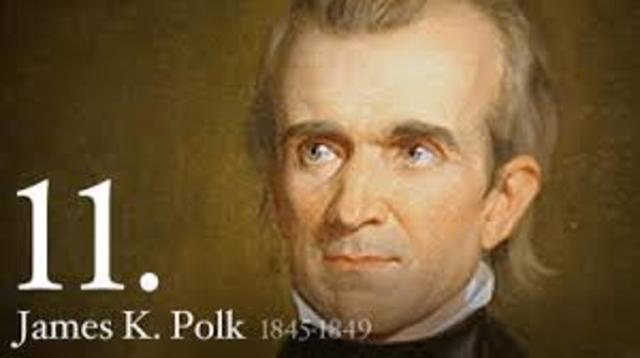 "the annexation of texas by president james polk Often referred to as the first ""dark horse,"" james k polk was the 11th president of the united congress passed a joint resolution offering annexation to texas."
