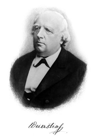 Karl Weierstrass (Ostenfelde-Westfalia)