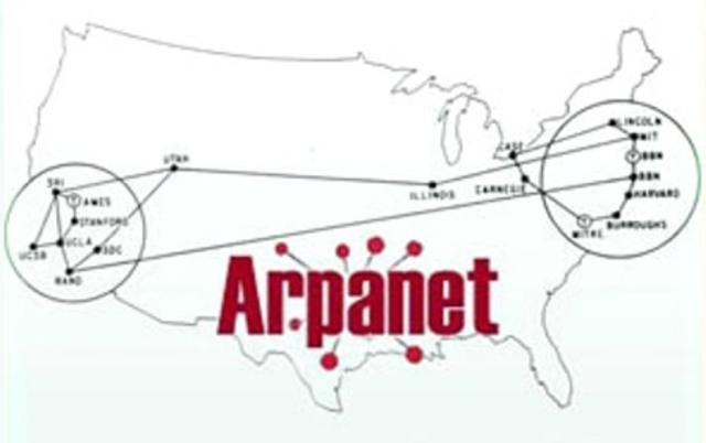 Se establece una conexión por satélite de ARPANET
