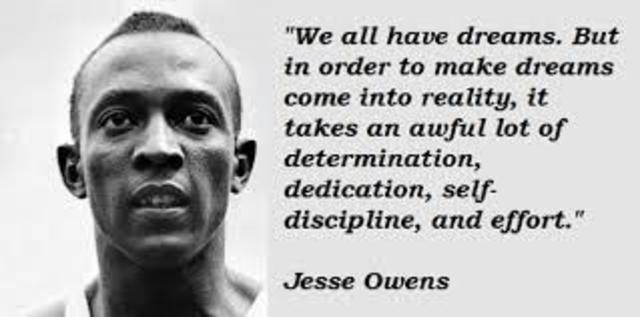 Quotes By:Jesse Owens