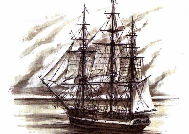 Francisco Pizarros Ship Francisco Pizarro time...