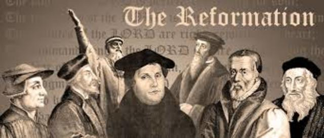 The impact of martin luther on the protestant reformation in the united states