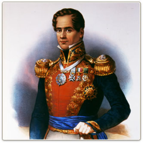 Antonio Lopez de Santa Anna timeline | Timetoast timelines