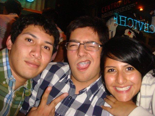 Conoci a dos de mis mejores amigos y amiga