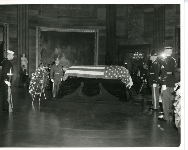 Herbert Hoover funeral video