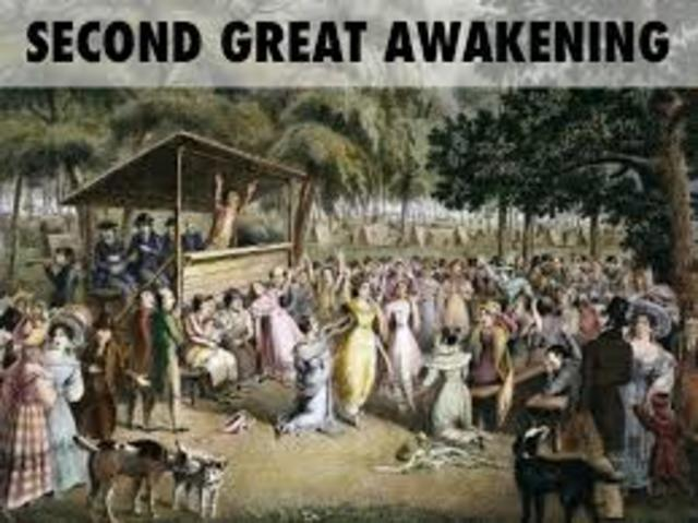 an analysis of the second awakening in the 1800 Second great awakening the second great awakening of the mid-1800's was a major turning point for christianity in the us it led to the creation of many new sects of christianity such as mormonism and the seventh-day adventists.