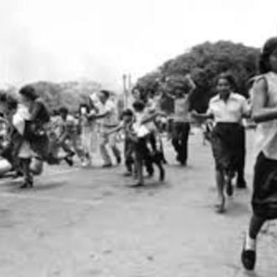 cómo inició la Guerra en El Salvador timeline