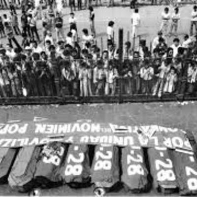 GUERRA CIVIL EL SALVADOR  timeline