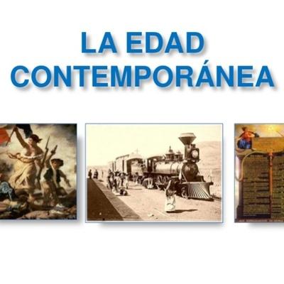 EDAD CONTEMPORANEA timeline