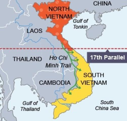 The Vietnam War  1954 1980 timeline | Timetoast timelines