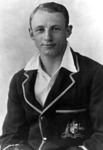 Image result for don bradman debut