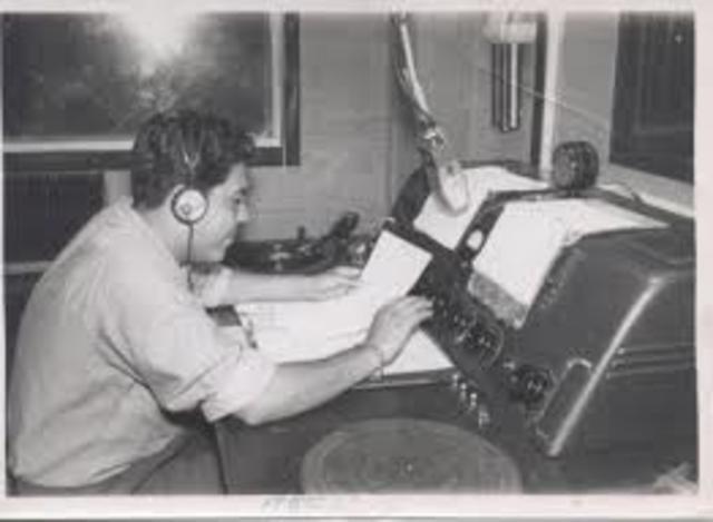 Primera estacion de radio en Mexico
