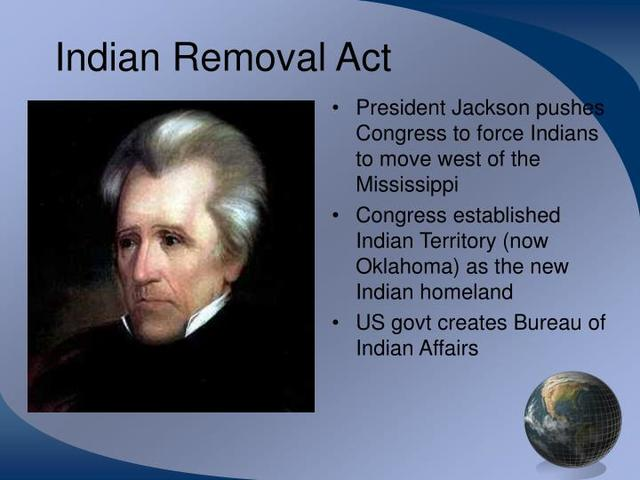 Indian removal act date in Melbourne