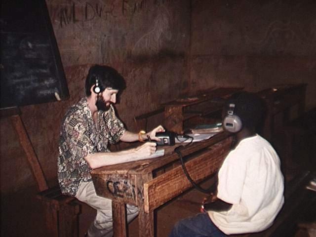 Survey intership Bangui CAR - Sept 95- May 1996