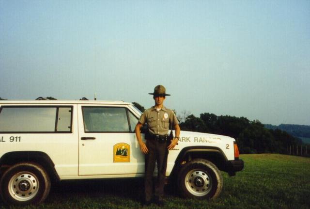 Mike works as Park Ranger