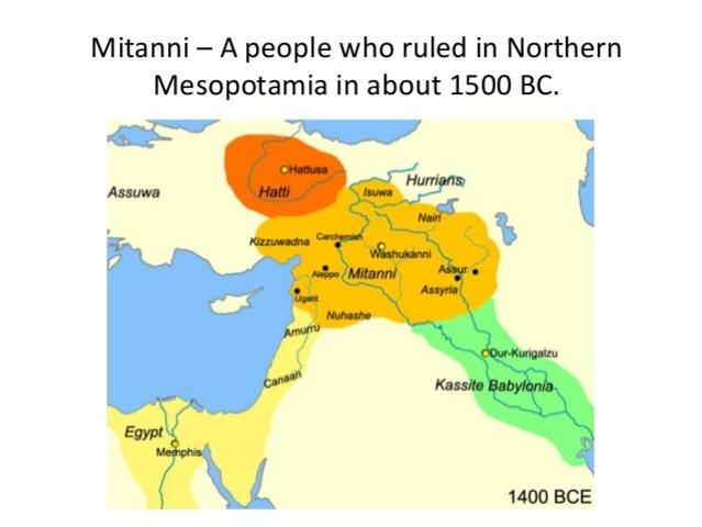 1500 BC: