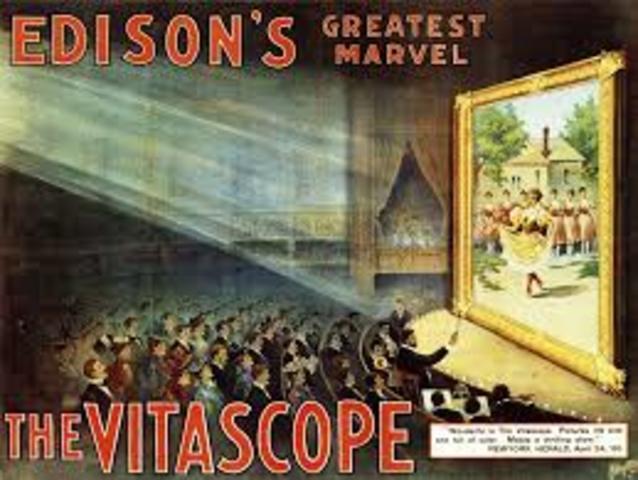 Vitascopio, primeras proyecciones