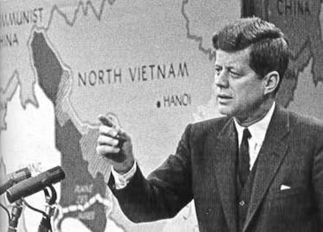 the contribution of john f kennedy on the vietnam war John f kennedy's impact on the cold war era intro john fitzgerald kennedy had a great affect on the cold war he led the us pass russia in the space race, was dedicated to the peace corps and help solved communism in europe during the cold war.