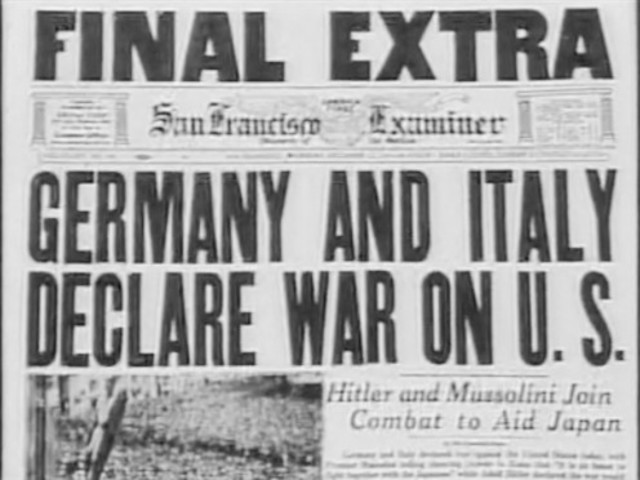 Image result for nazi germany and italy declare war on the u.s.