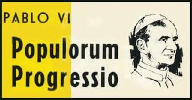 """""""Populorum progressio"""": Papa Pablo VI"""