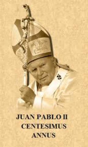 """""""Centesimus Annus"""": Papa Juan Pablo II"""