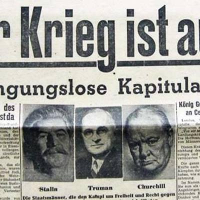 Einstiegsstunde 1945 timeline