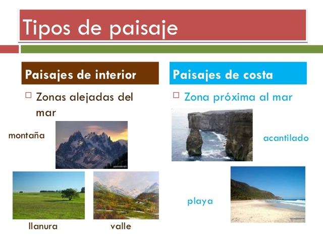Paisajes miticos timeline timetoast timelines - Tipos de paisajes ...