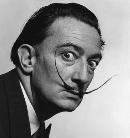Salvador Dali timeline | Timetoast timelines