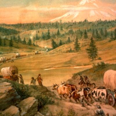 The Oregon trail. timeline