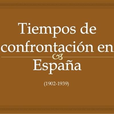 España de 1902 a 1939 (CRONOLOGÍA REALIZADA POR SUSANA AMADOR LOPEZ 4º ESO SJC ) timeline