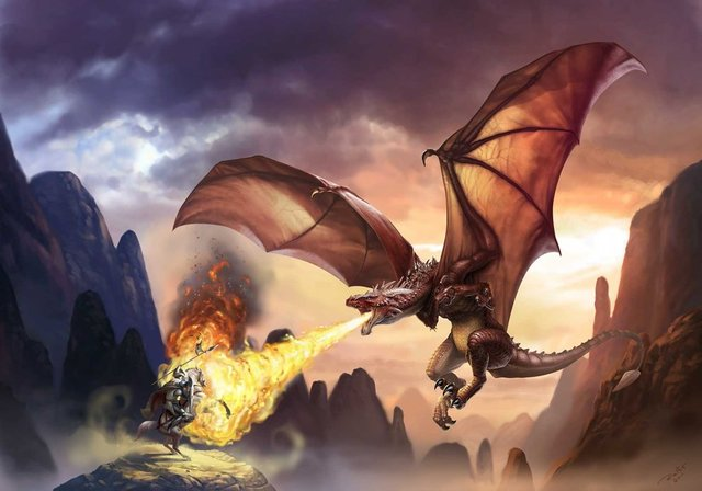 Resultado de imagen para el caballero de la armadura oxidada dragon