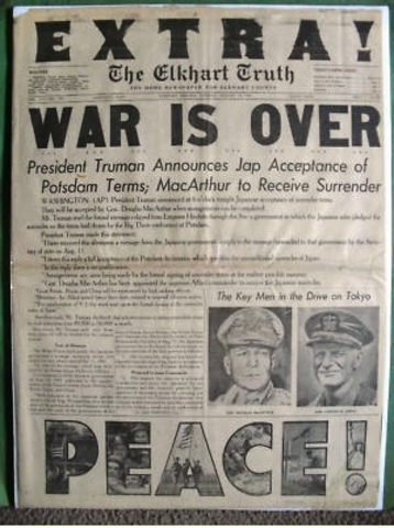 Ww2 end date in Australia