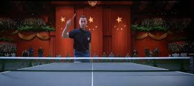 Forrest Visits China with U.S Ping Pong Team