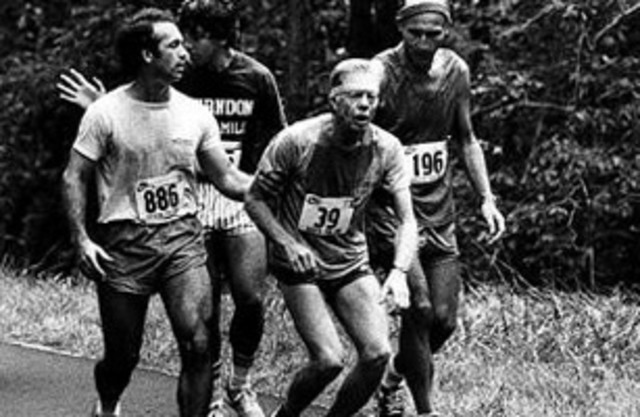 Jimmy Carter Collapses at a Maryland Road Race