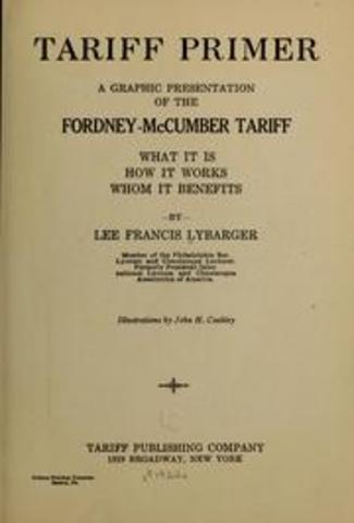 Fordney–McCumber Tariff