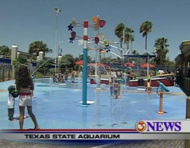 Ground was broken for the Aqua Park to be built, as for a parking lot ...