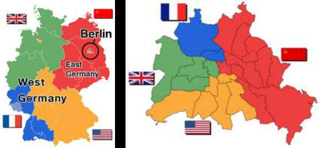 Map Of Germany During Cold War.Cold War 1945 1980 Timeline Timetoast Timelines
