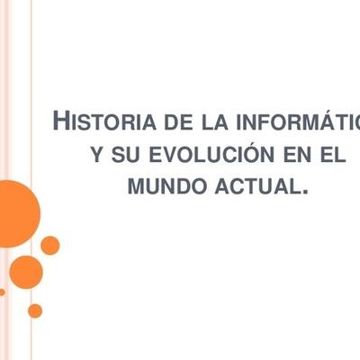 LA HISTORIA DE LA INFORMÁTICA.. PARTE 1 timeline