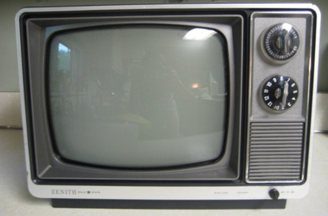 The first T.v.