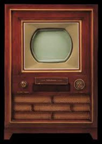 The first color T.V.
