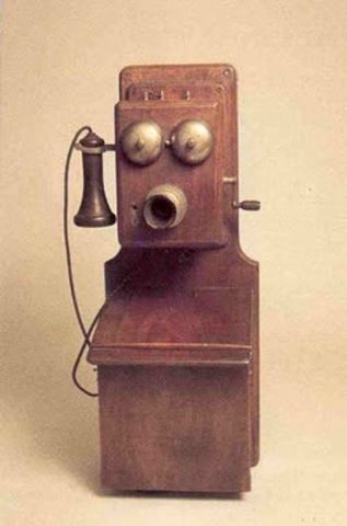 inicios del telefono fijo