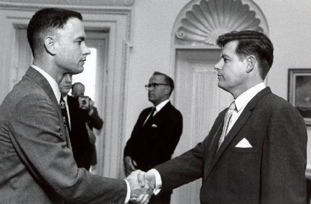 Forrest Meets JFK