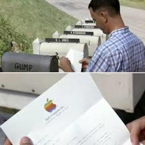 Forrest invests in Apple