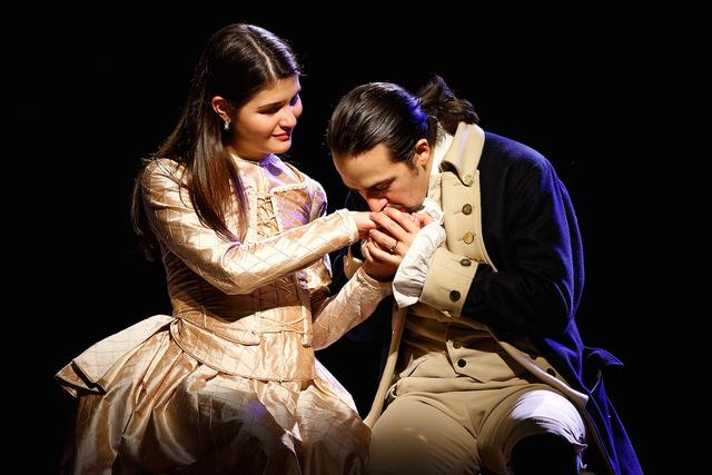 Elizabeth Meets Alexander Hamilton