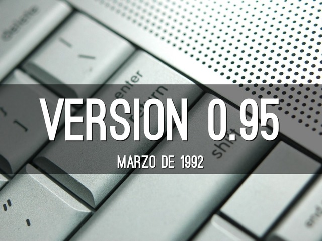 Linux 0.95
