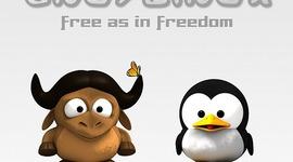 Software libre, Historia timeline