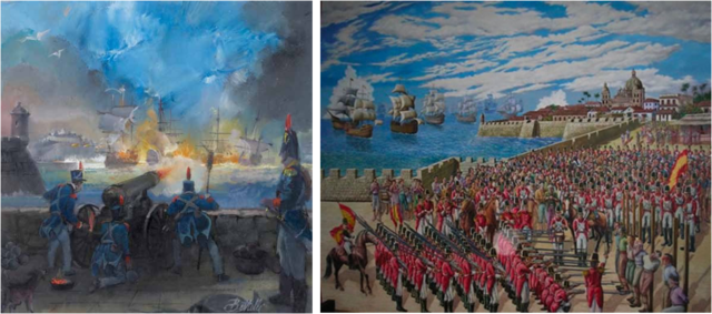 Regreso de Pablo Morillo a Cartagena