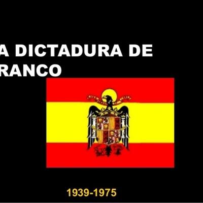 LA DICTADURA DE FRANCO(linea del tiempo realizada por Susana Amador López 4º ESO SJC) timeline