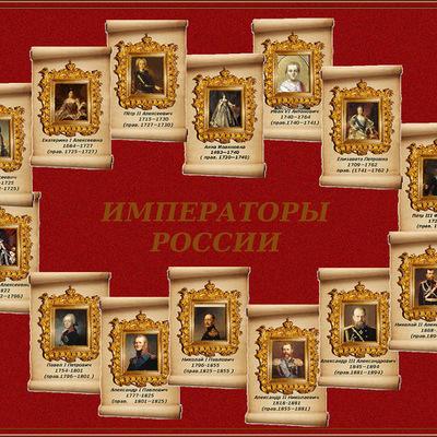 Императоры России timeline